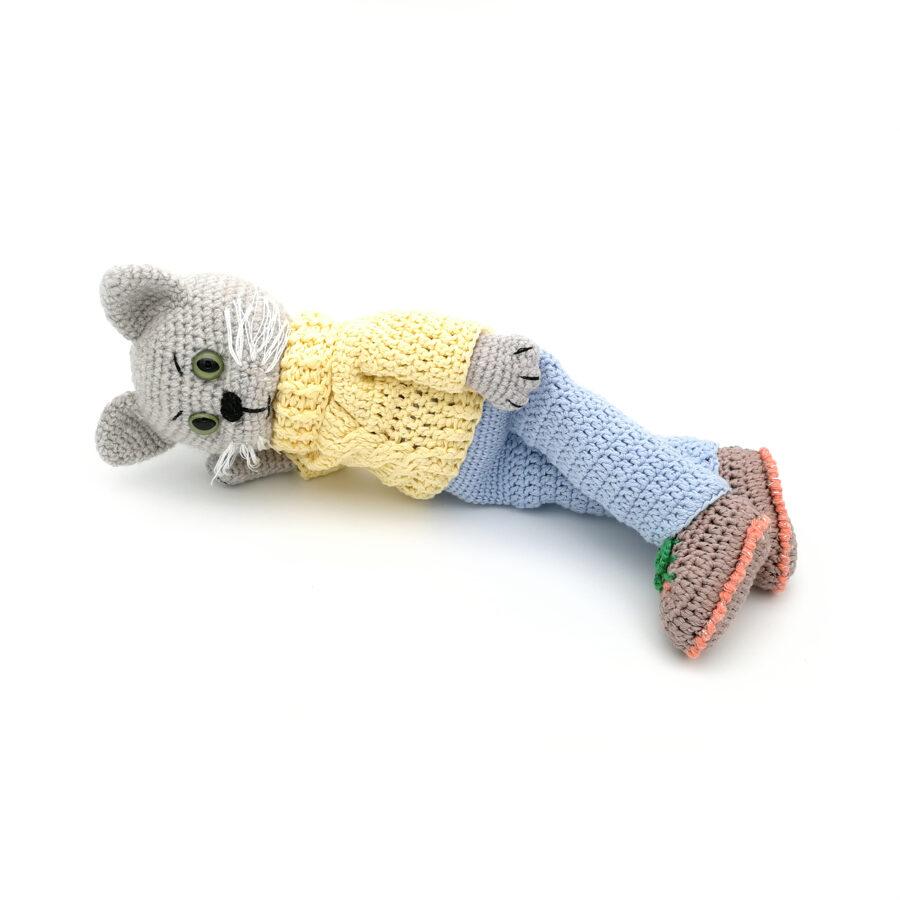 """Мягкая игрушка """"Кукла-кот"""""""