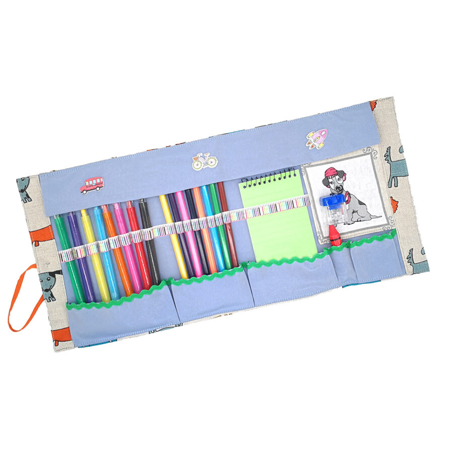 """Gift set """"Pencils case with pencils"""""""