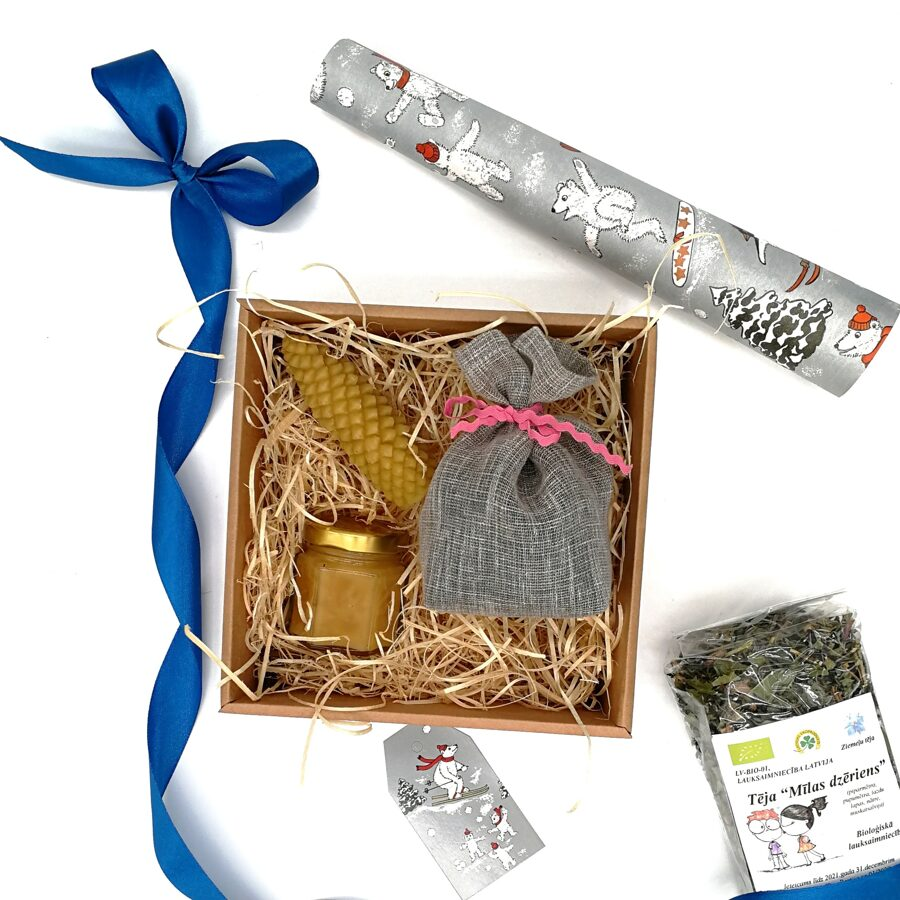 """Christmas tea gift set """"Love drink"""""""