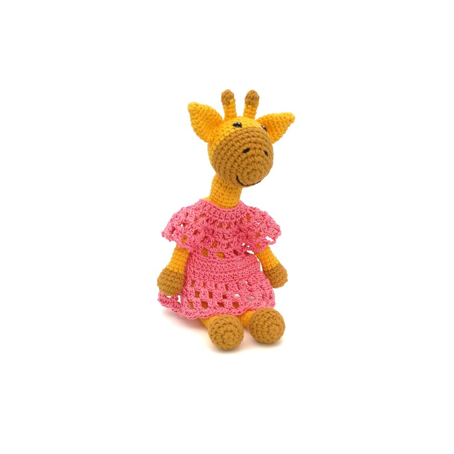 """Soft toys """"Giraffe babies"""""""