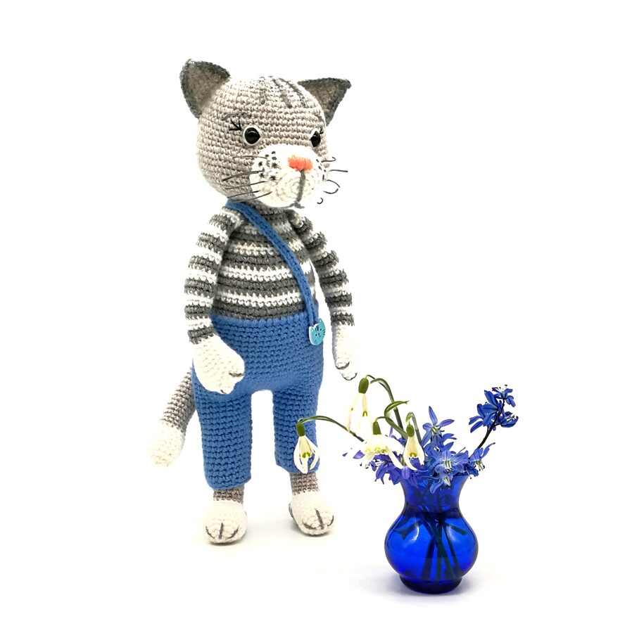 "Soft toy ""Smart cat"""