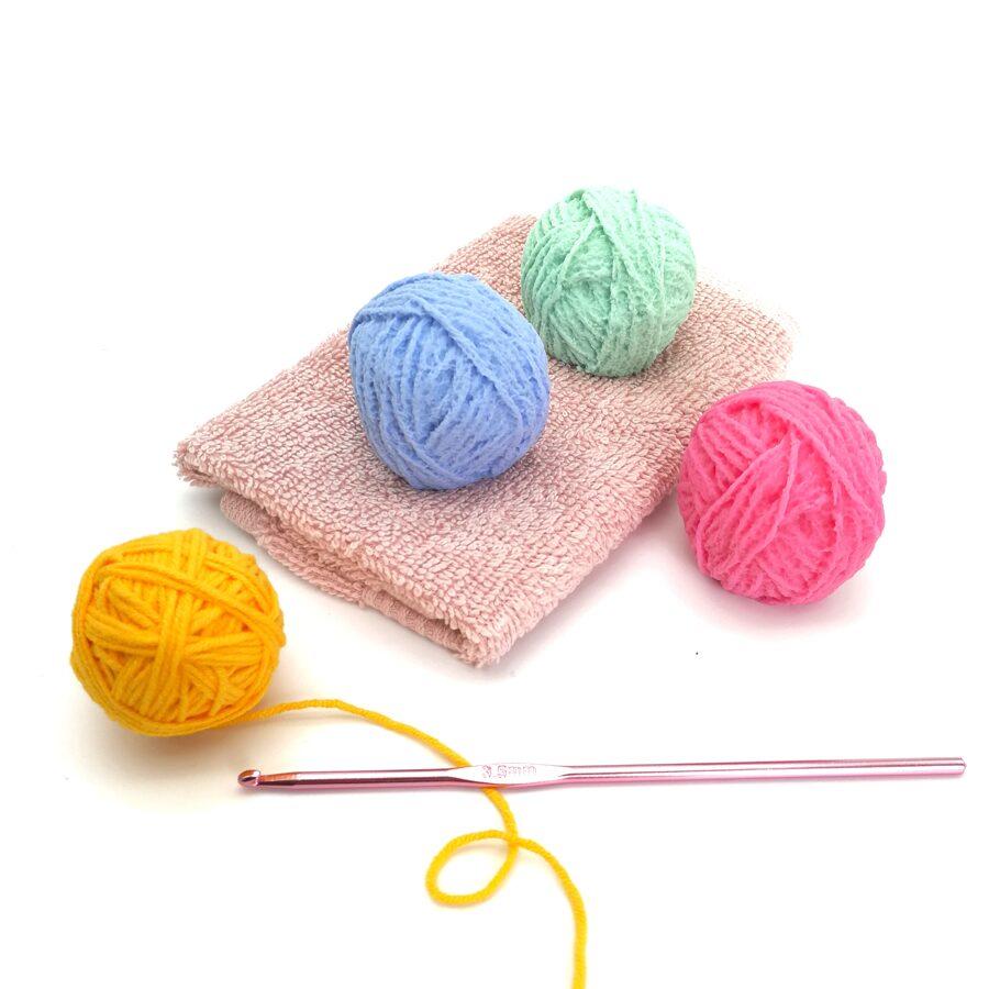 "Hand soap ""Yarn bolls""  3 pc."