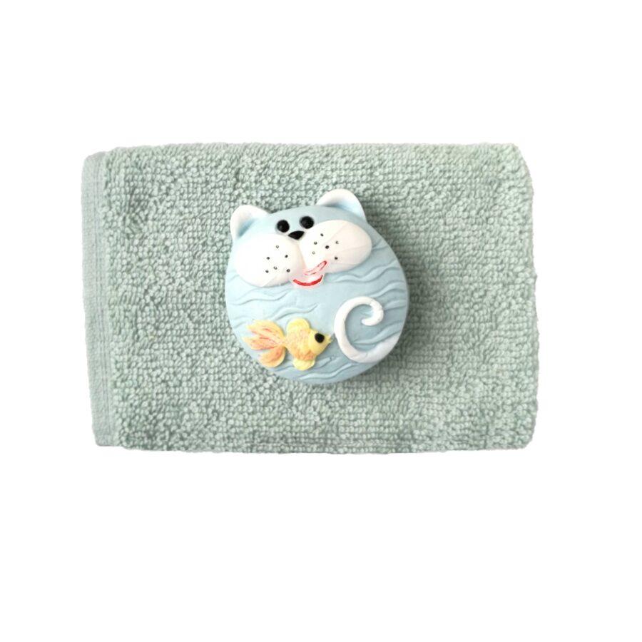 "Handmade soap ""Cat with fish"""