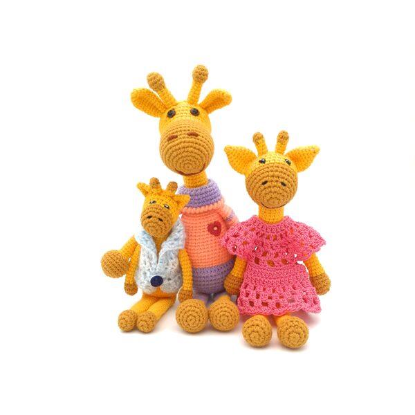 "Мягкие игрушки ""Жирафики-малыши"""